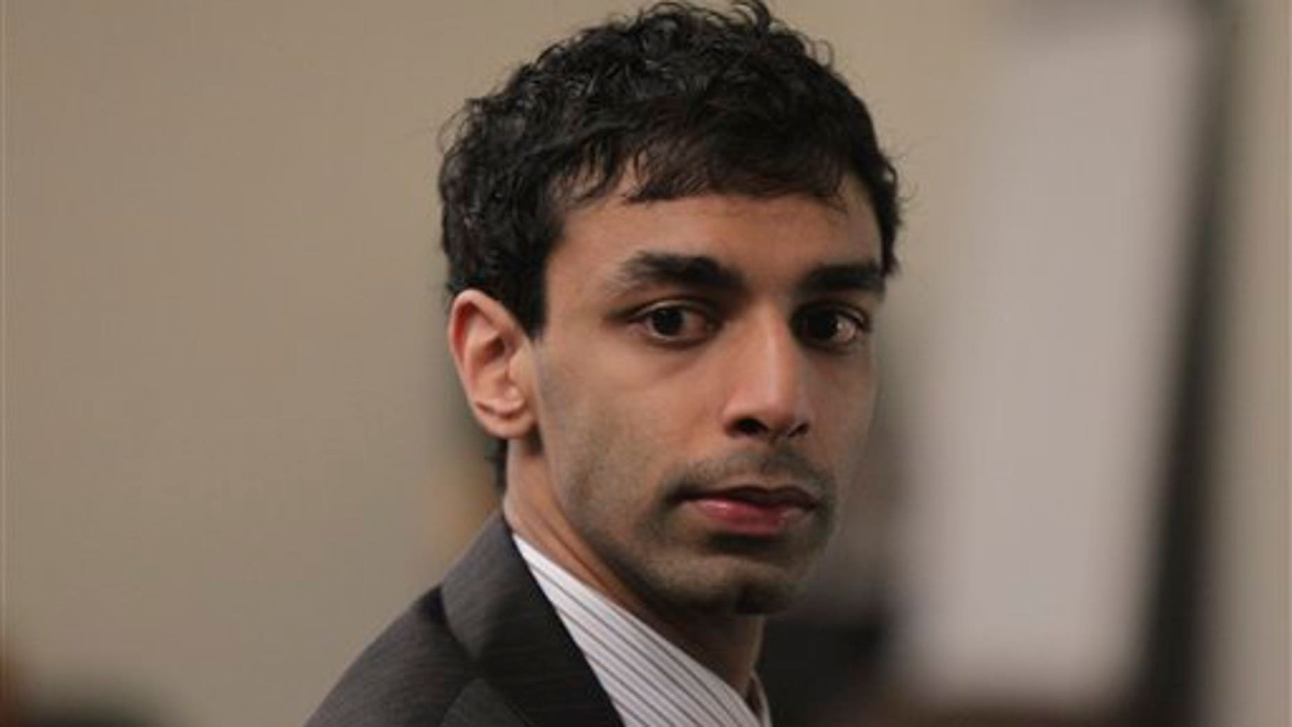 Feb. 28: Dharun Ravi listens to testimony during his trial at the Middlesex County Courthouse in New Brunswick, N.J. Ravi is accused of using a webcam to spy on his roommate, Tyler Clementi, in an intimate encounter with another man. Days later Clementi committed suicide.