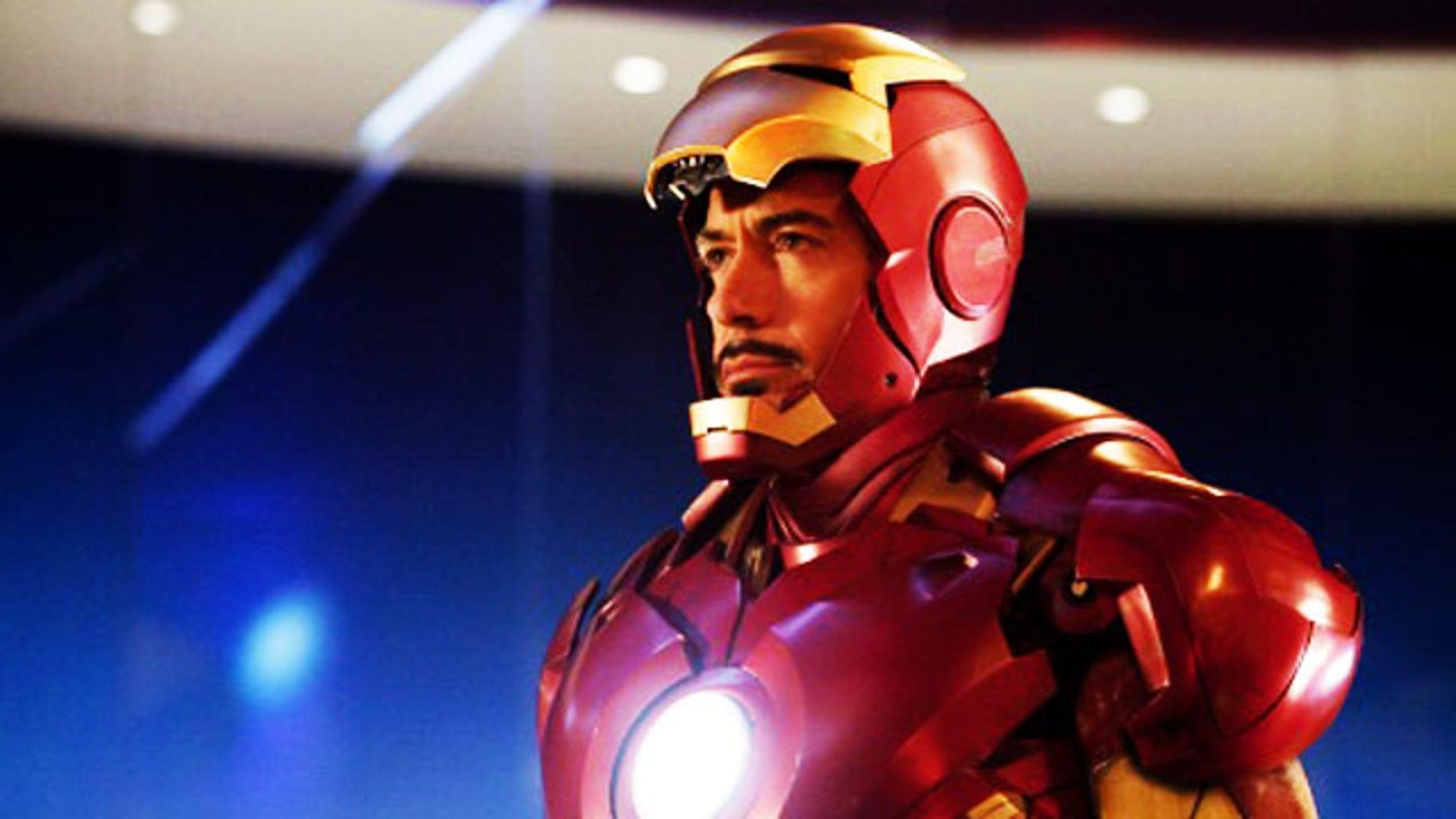"Robert Downey Jr. is back as billionaire industrialist Tony Stark, aka Iron Man, in ""Iron Man 2."""
