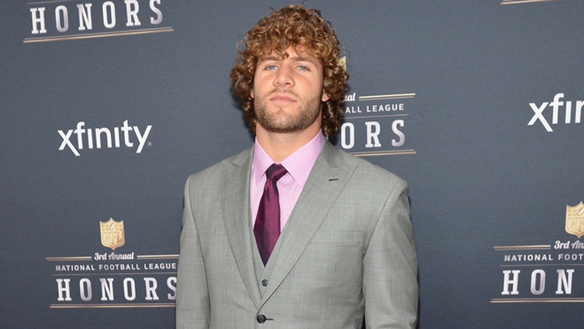Kiko Alonso attends the 3rd Annual NFL Honors at Radio City Music Hall on February 1, 2014 in New York City.