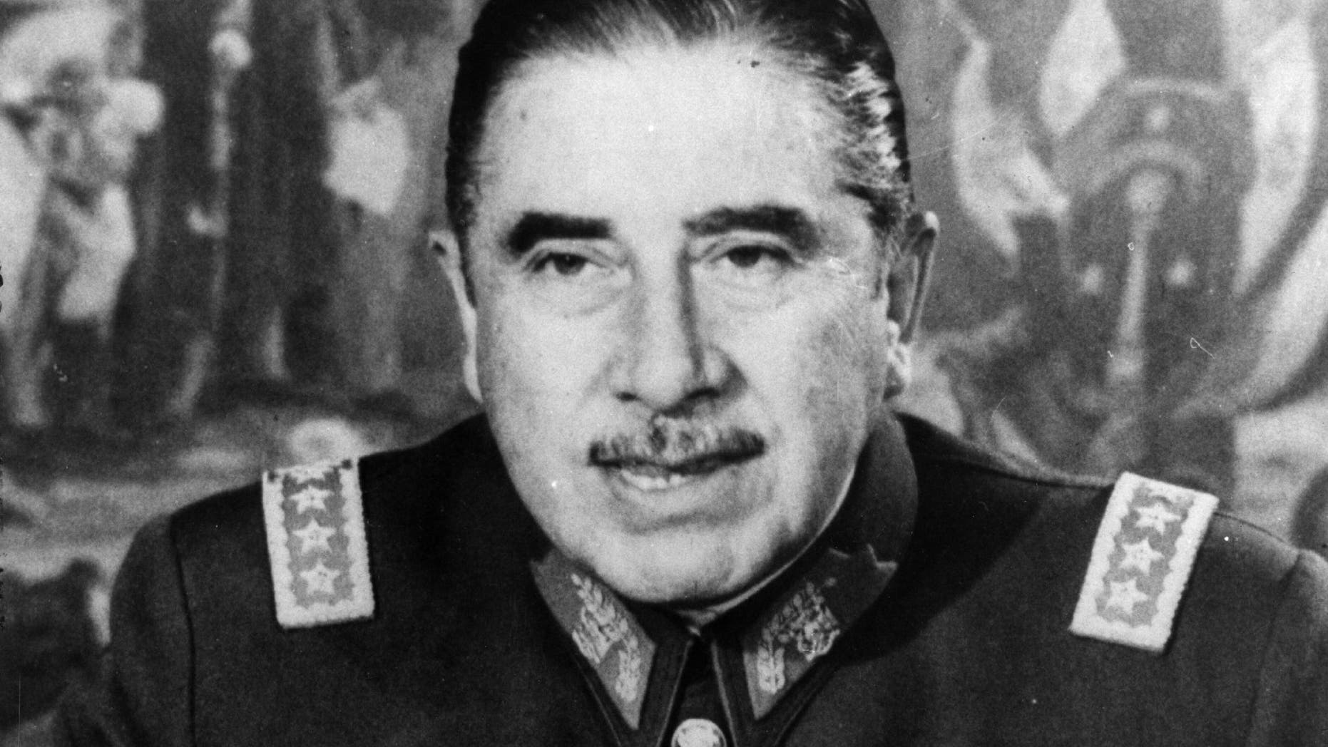 Chilean soldier and politician, Augusto Pinochet Ugarte.  In 1973 he led a coup which ousted, and resulted in the death of, the Marxist President, Salvador Allende. Pinochet then took over the presidency.   (Photo by Keystone/Getty Images)