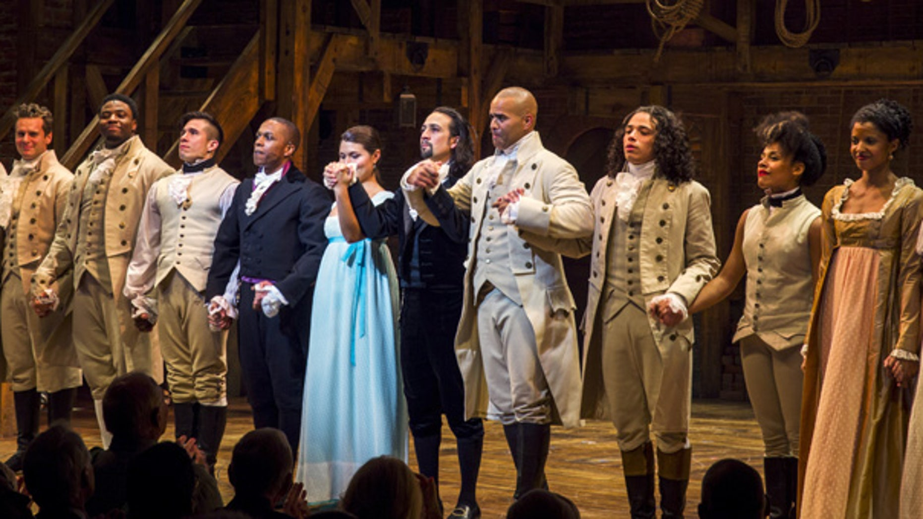 'Hamilton' is widely expected to sweep the Tony Awards