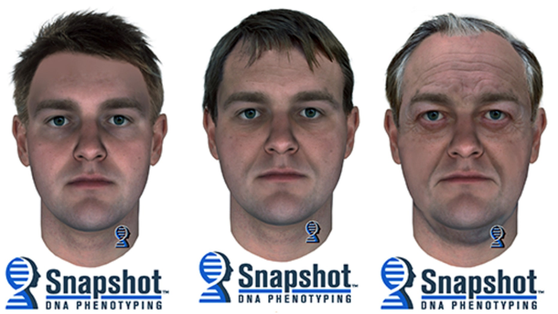 Composite sketches based on DNA evidence of a suspect in the 1987 killings of a Canadian couple were released Wednesday.