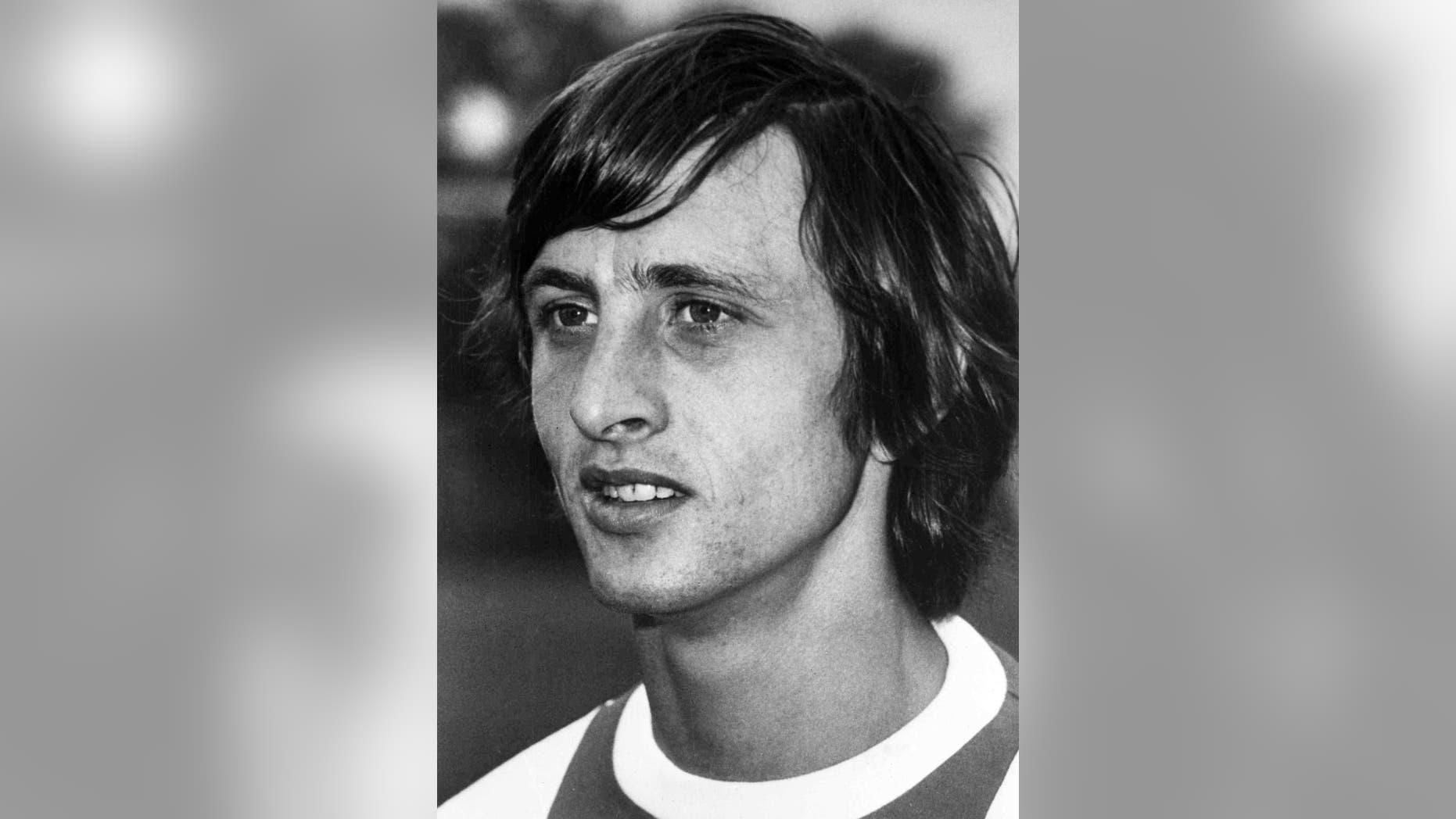Johan Cruyff in 1972.