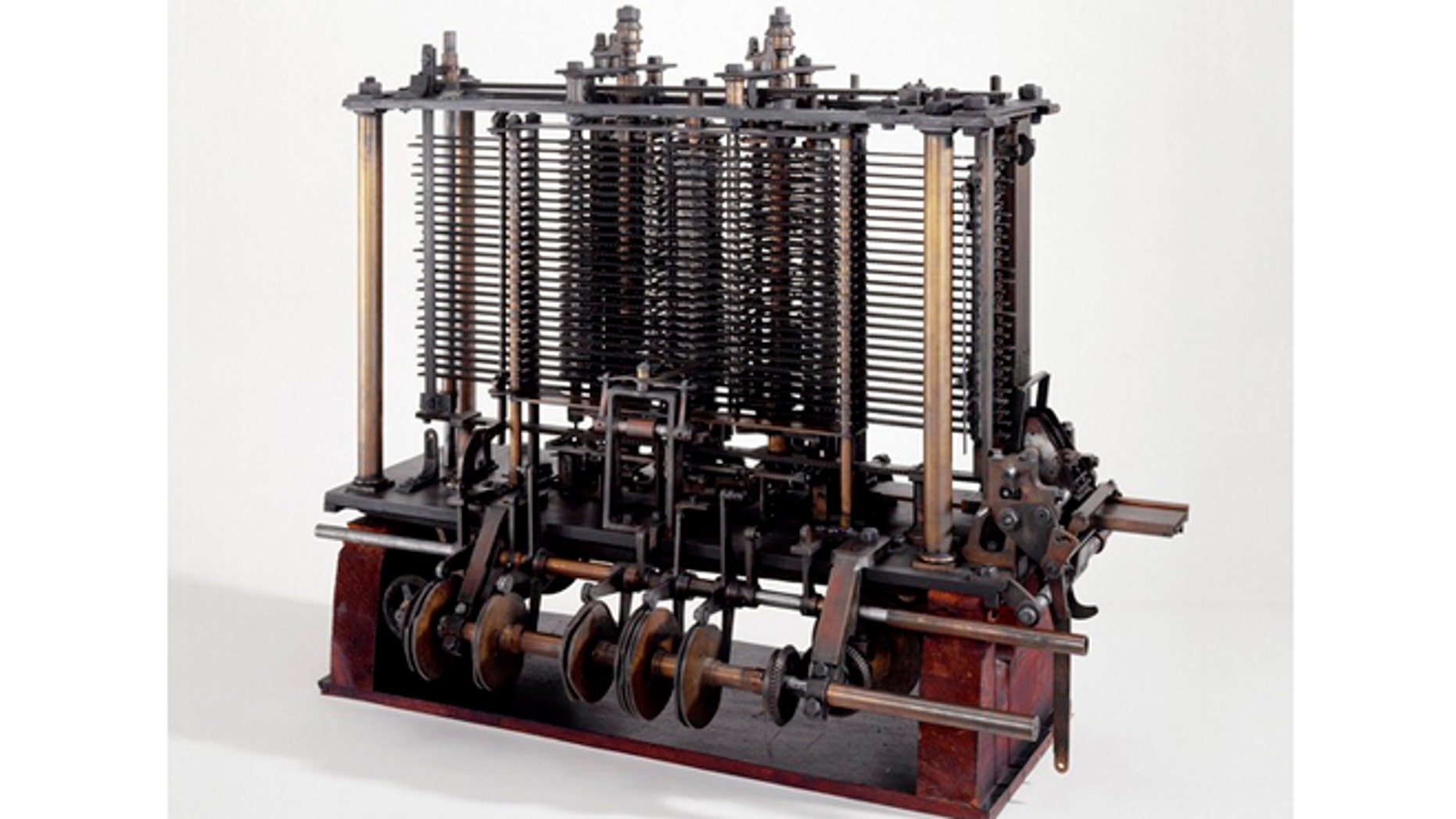 Famed mathematician Charles Babbage designed a Victorian-era computer called the Analytical Engine. This is a portion of the mill with a printing mechanism.