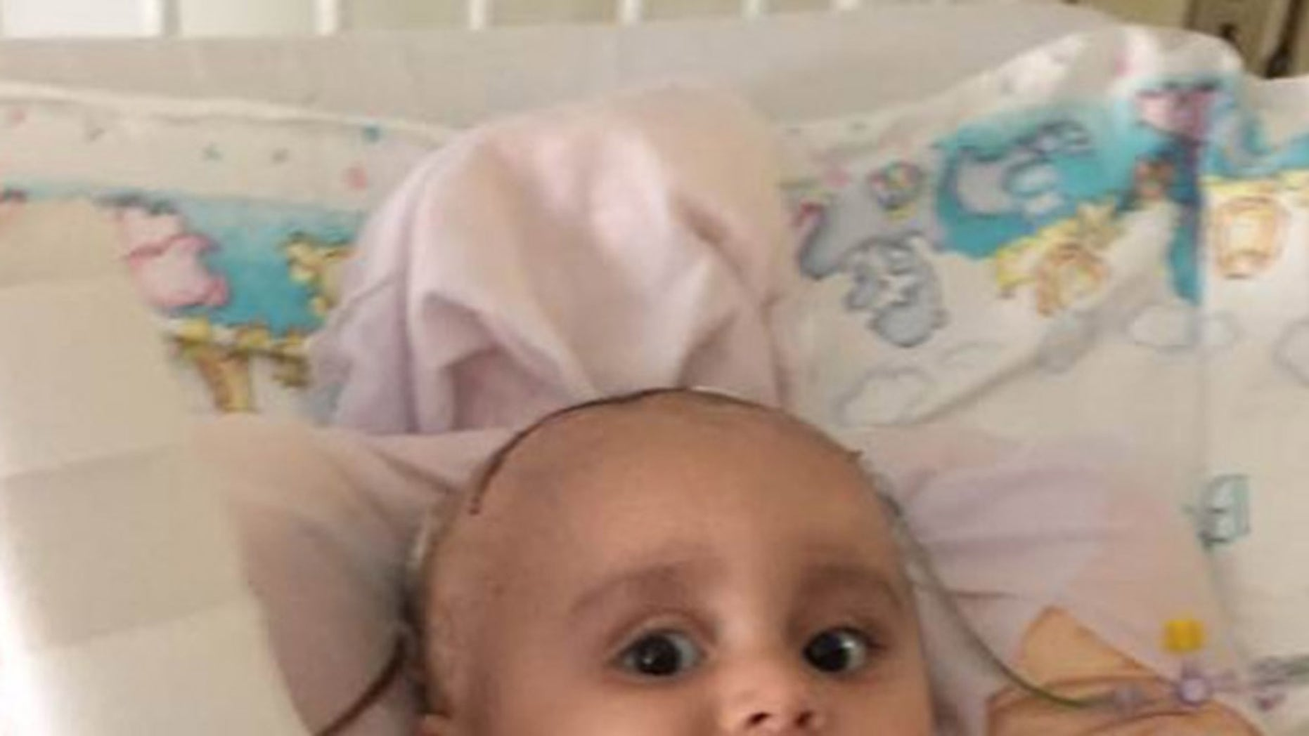 The family's insurance company allegedly sent 9-month-old Connor a letter denying a request for coverage after he was enrolled in a clinical trial to treat aggressive brain cancer.