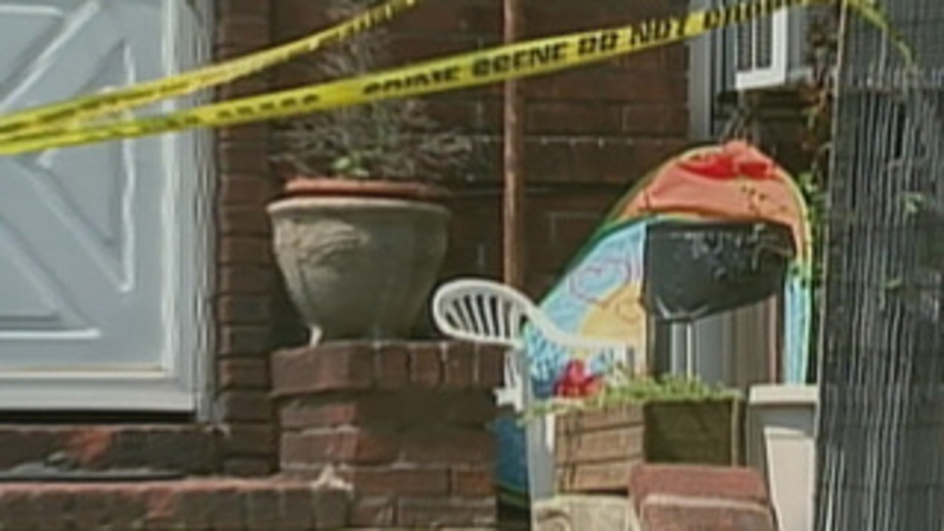 A newborn was found inside a shoe box in front of a house in Astoria, Queens.