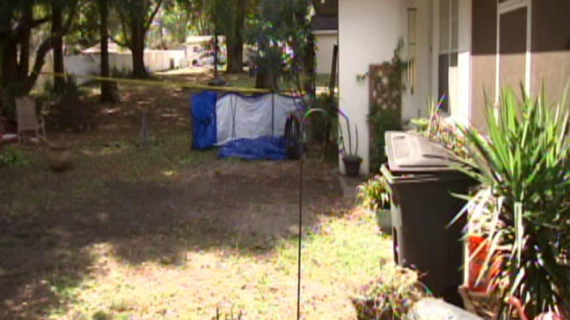 Benny Scott was buried in the garden of his Florida home under oregano, basil and banana peppers, MyFoxTampaBay.com reported.