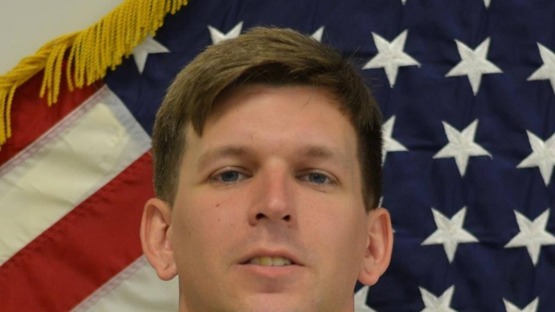 This image provided by the US Army shows  Christopher Hoch. Kentucky State Police say in a statement it appears 35-year-old Jeremy Demar of Clarksville, Tennessee, was in a domestic dispute with his estranged wife, 32-year-old Priscilla Ann East, and found her at a home in Oak Grove, Kentucky, where he forced his way in Thursday night and fatally shot her and 28-year-old Hoch. (US Army via AP)
