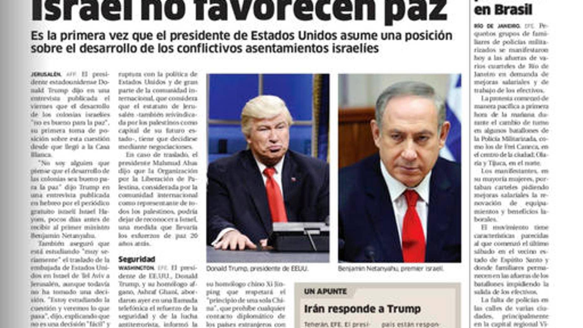Digitized version of Dominican Republic's El Nacional print edition on Feb. 10, 2017.