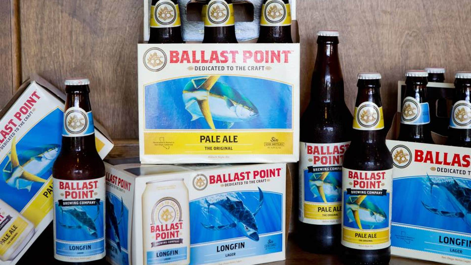 Constellation Brands has agreed to purchase San Diego -based craft brewery Ballast Point.