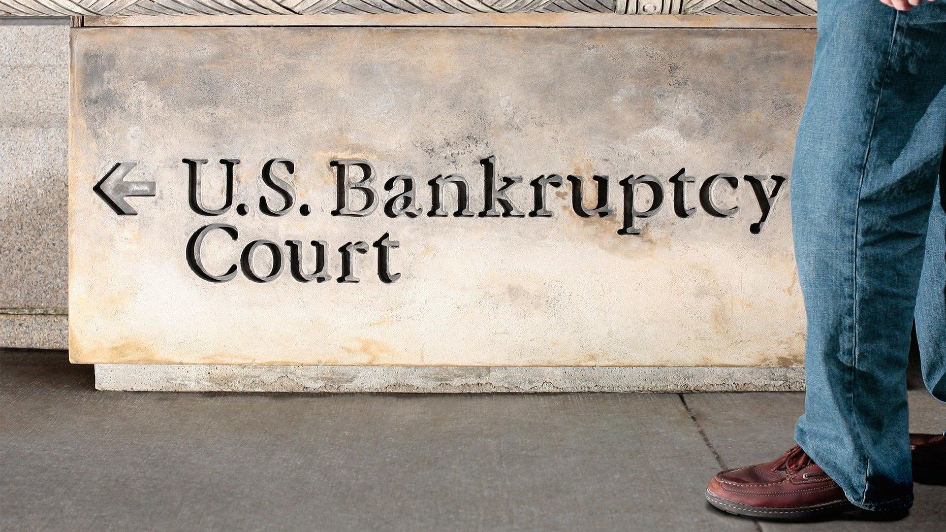 U.S. bankruptcy court sign
