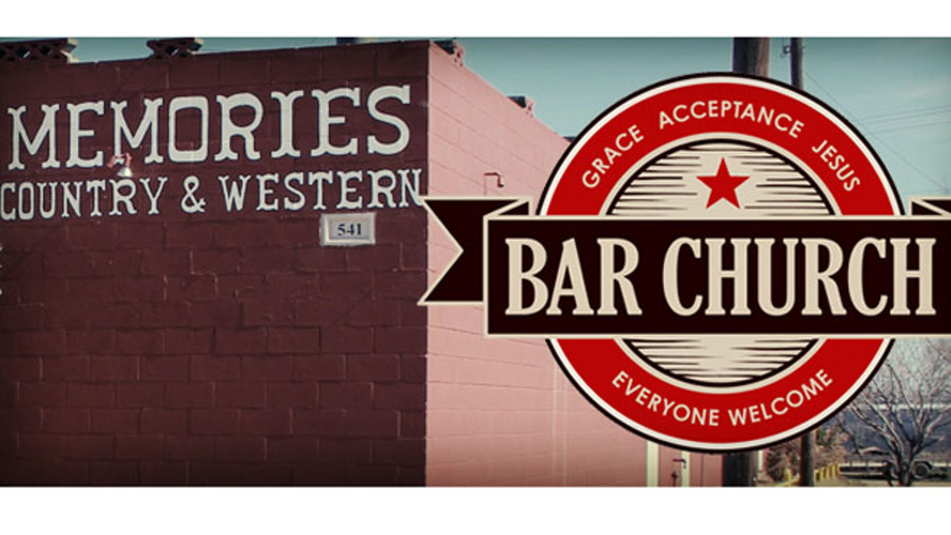 Bar or church.  How about both.