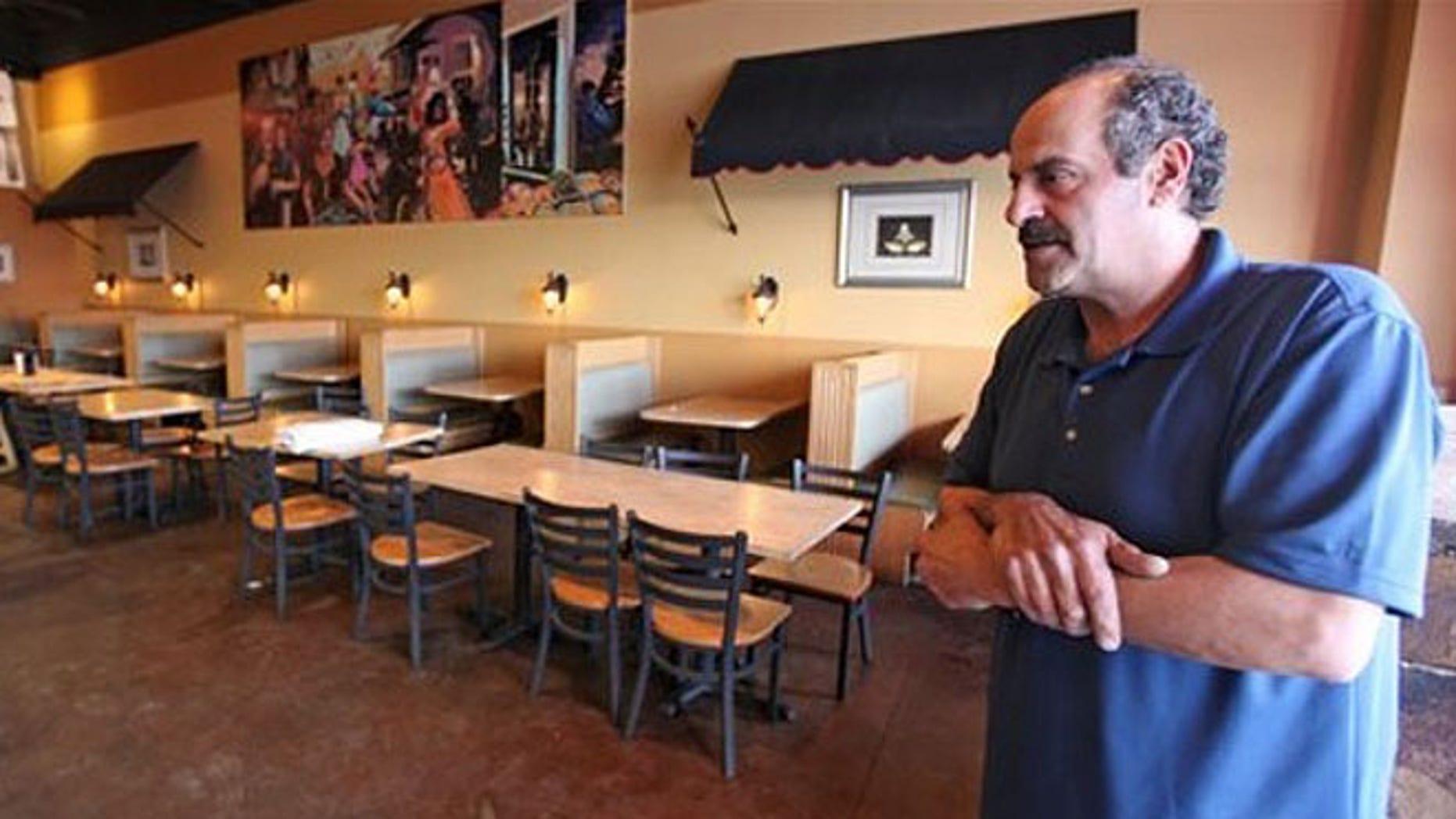 Columbus, Ohio, restaurant owner Hany Baransi describes the machete attack in his Columbus establishment.