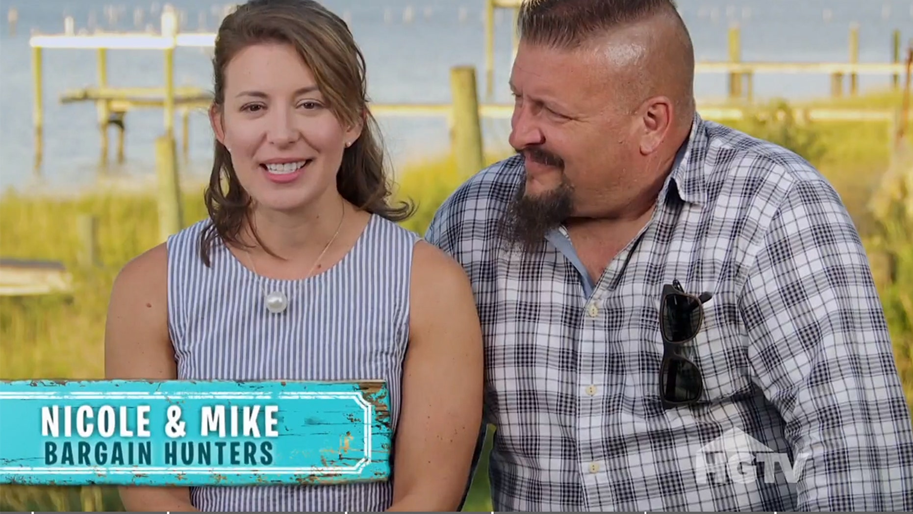 """Dr. Erich Voigt was watching HGTV's """"Beachfront Bargain Hunt"""" when he noticed a concerning lump on Nicole McGuinness' neck."""