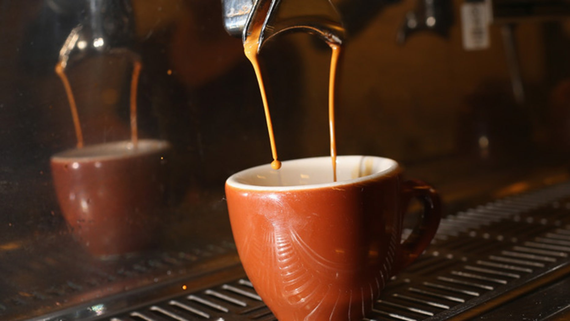 MIAMI, FL - SEPTEMBER 29:  An espresso coffee is seen at Eternity Coffee Roasters during National Coffee Day on September 29, 2014 in Miami, Florida.  The day is for coffee drinkers to celebrate and enjoy the popular beverage which 50% of the population, equivalent to 150 million Americans, drink espresso, cappuccino, latte, or iced/cold coffees.  (Photo by Joe Raedle/Getty Images)