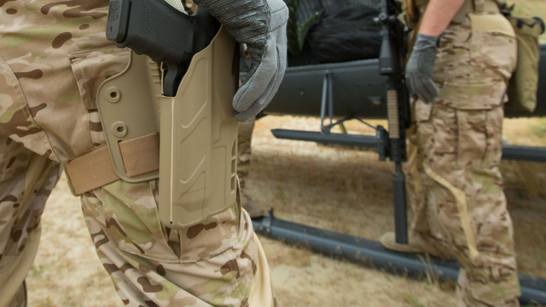 File photo - 7TS ALS Single Strap Holster (The Safariland Group)