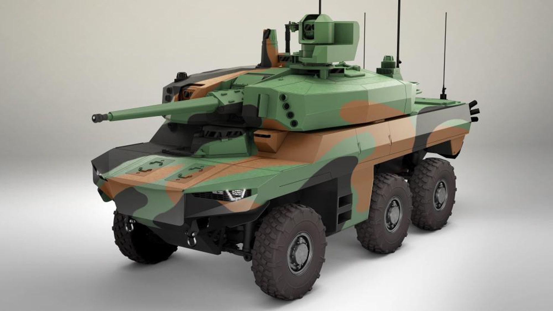 Jaguar EBRC (Thales)
