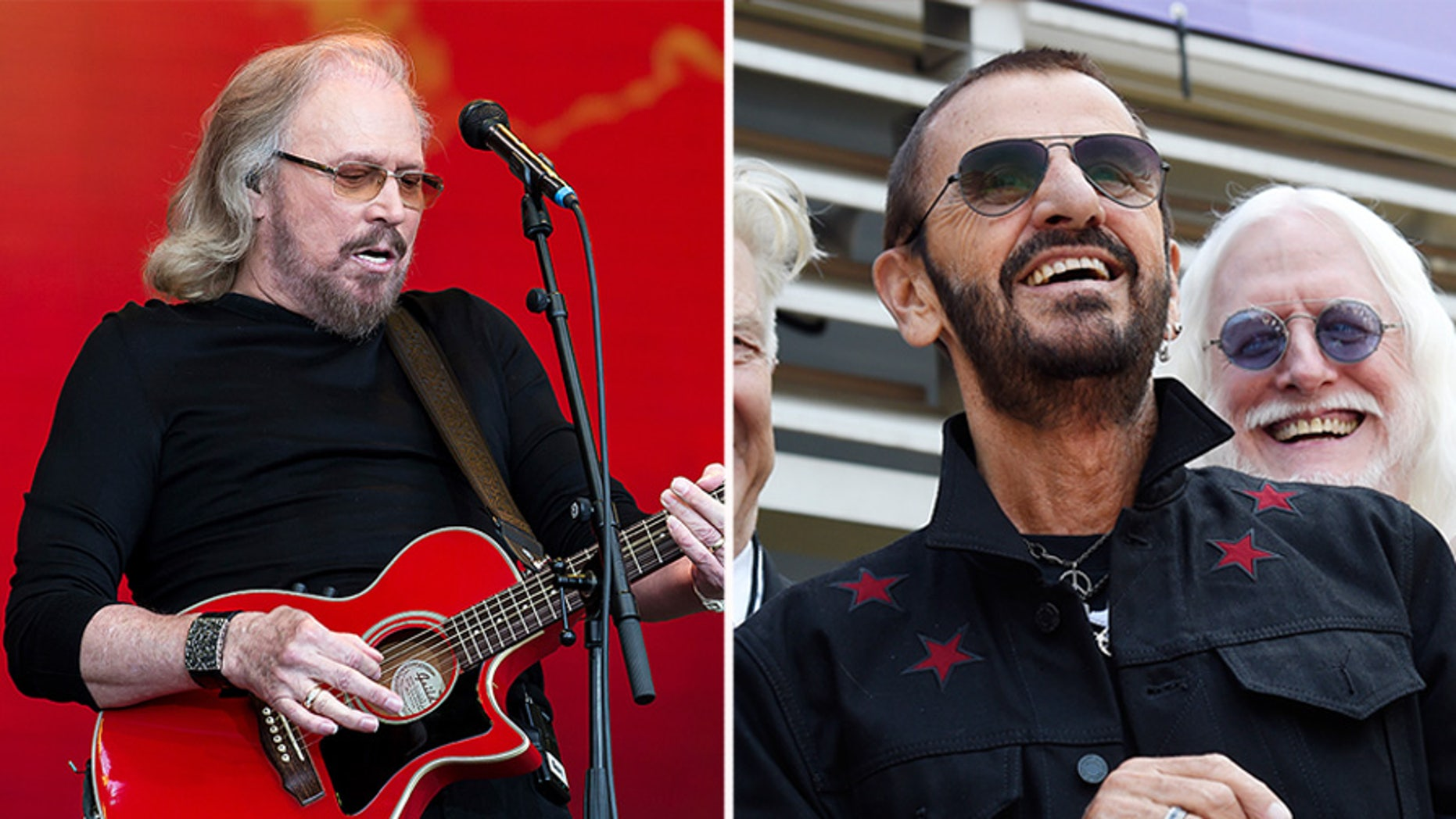 Beatles drummer Ringo Starr and Bee Gees singer Barry Gibb are among four British citizens who have been knighted by Queen Elizabeth as part of her New Year's Honors List.