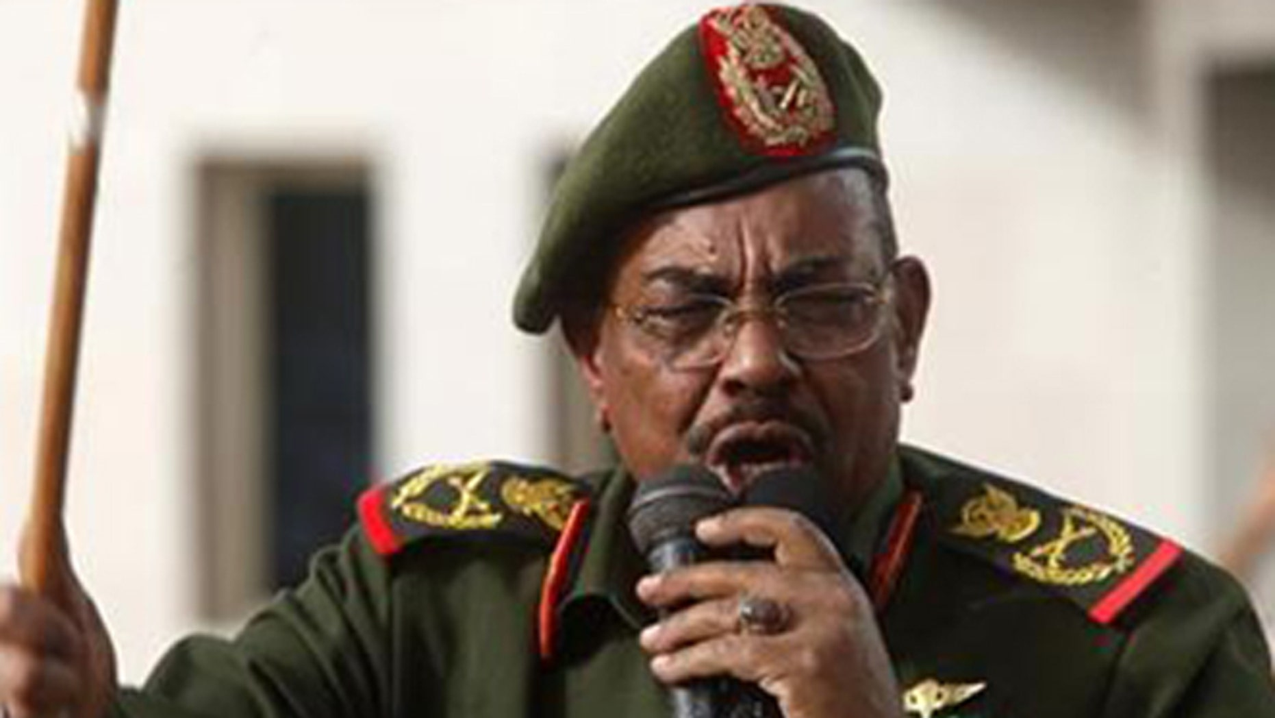 Sudanese President Omar al-Bashir is wanted by the International Criminal COurt for crimes against humanity, but the EU thinks he can be a partner. (Reuters0