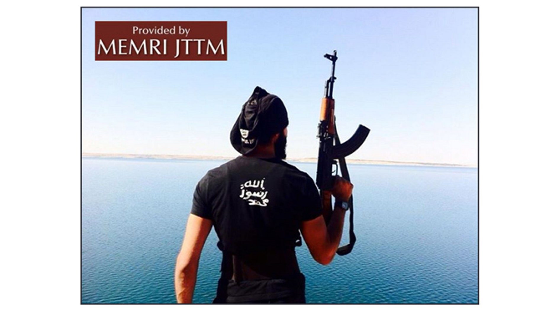 A profile picture on the Facebook account used by Foued Mohamed-Aggad in 2014. (MEMRI)