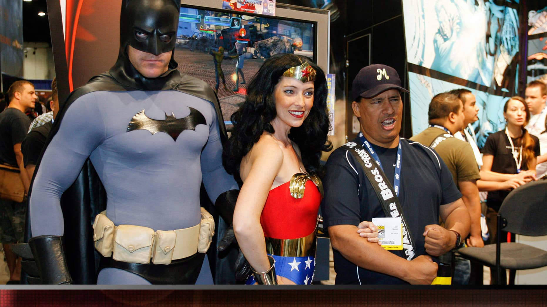 Wonder Woman is still a big draw at big super-hero events like Comic Con.