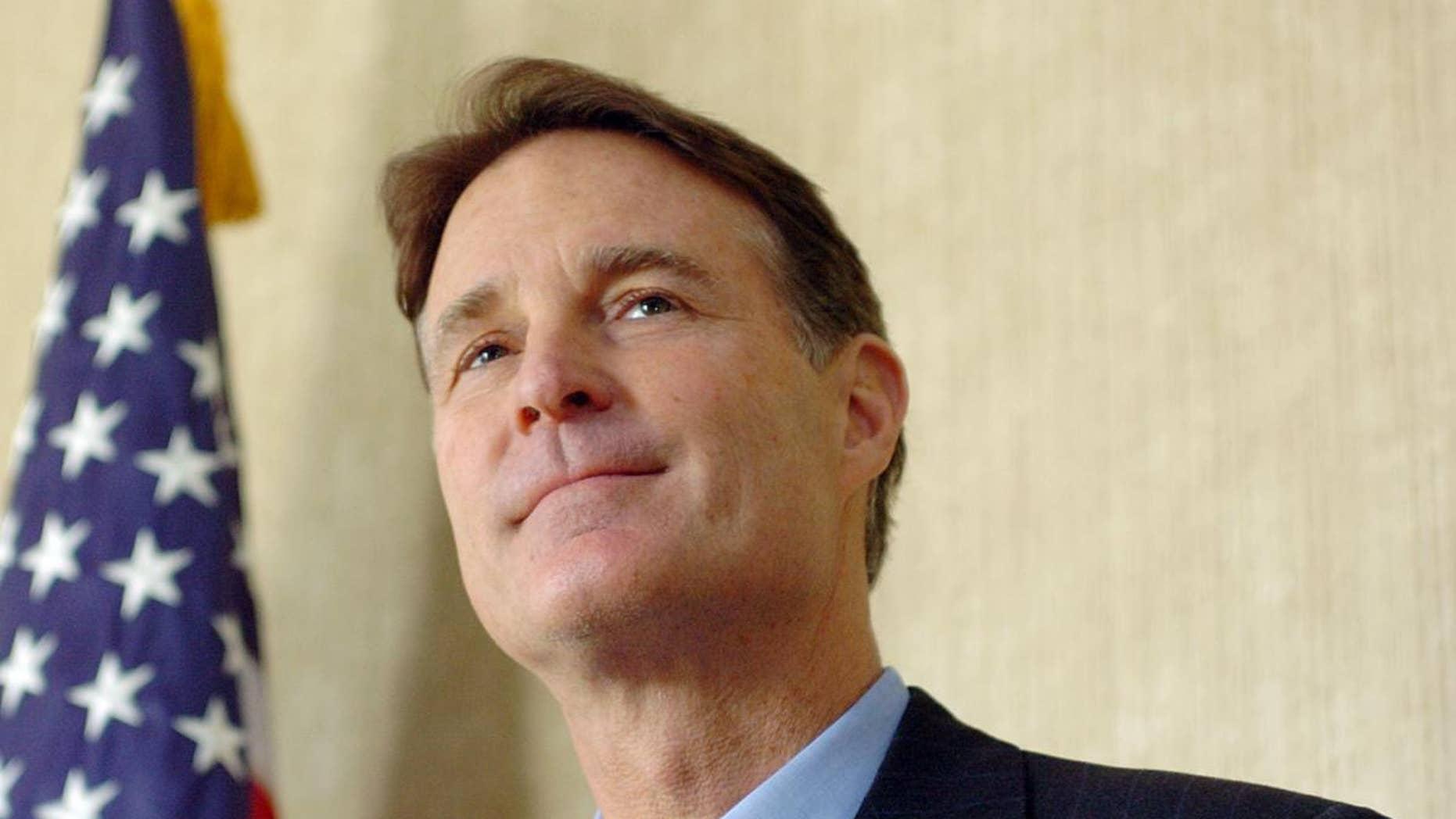 Former Sen. Evan Bayh, D-Ind. (AP FILE Photo/The Journal Gazette, Samuel Hoffman)