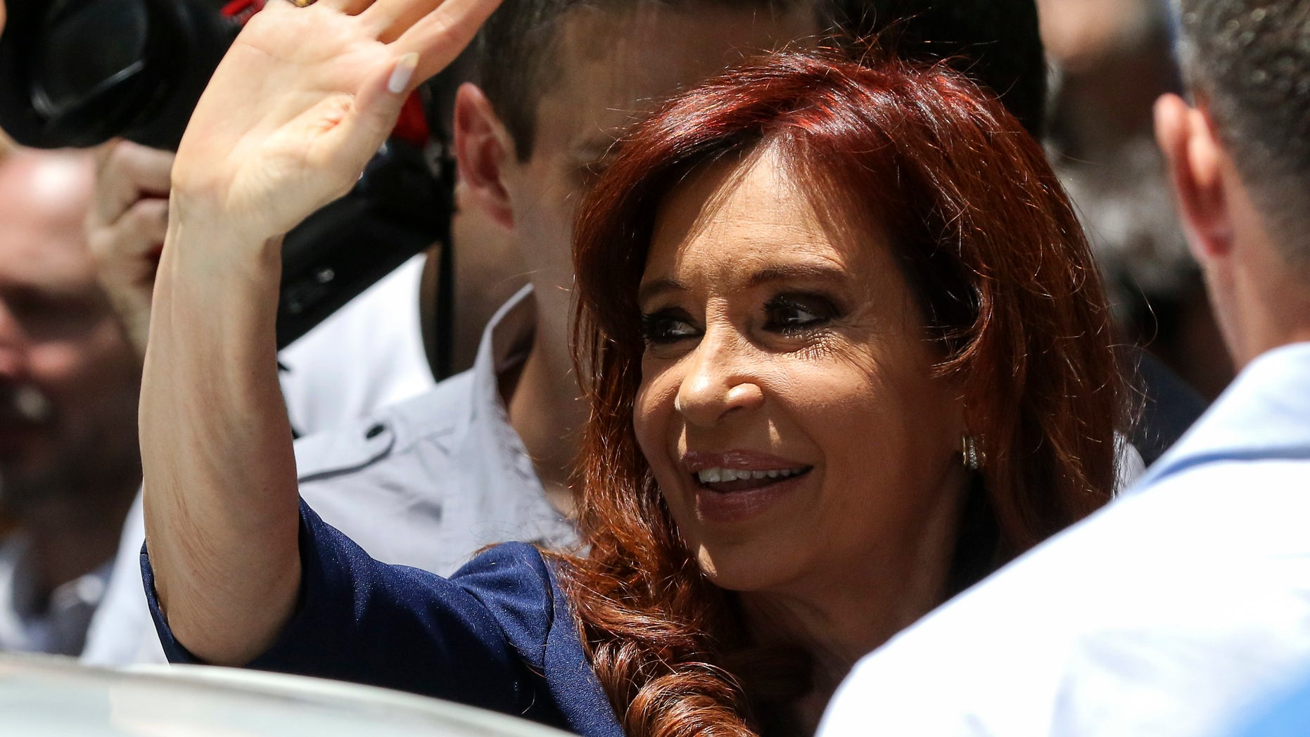 Argentina's former President Cristina Fernandez in Buenos Aires, Argentina, Tuesday, Nov. 29, 2016.