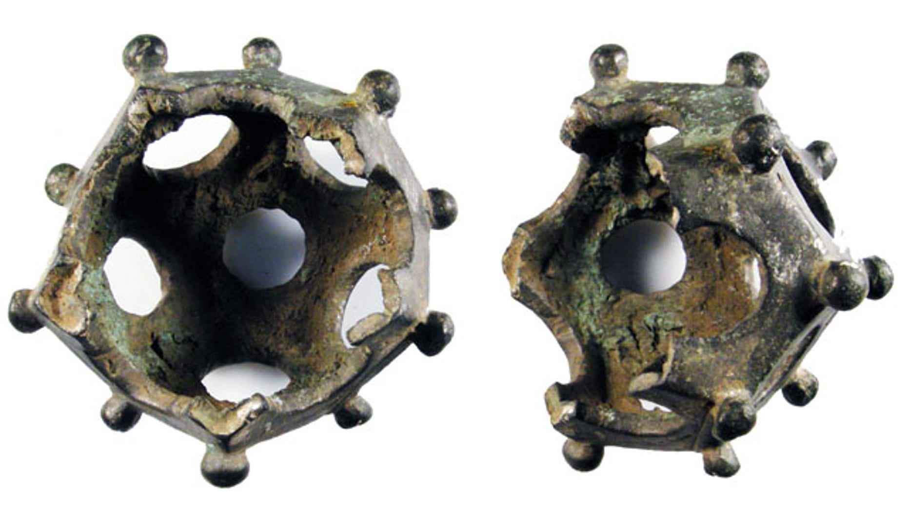 """Mysterious, 12-sizeds geometric objects known only as """"Roman dodecahedrons"""" have long mystified archaeologists."""