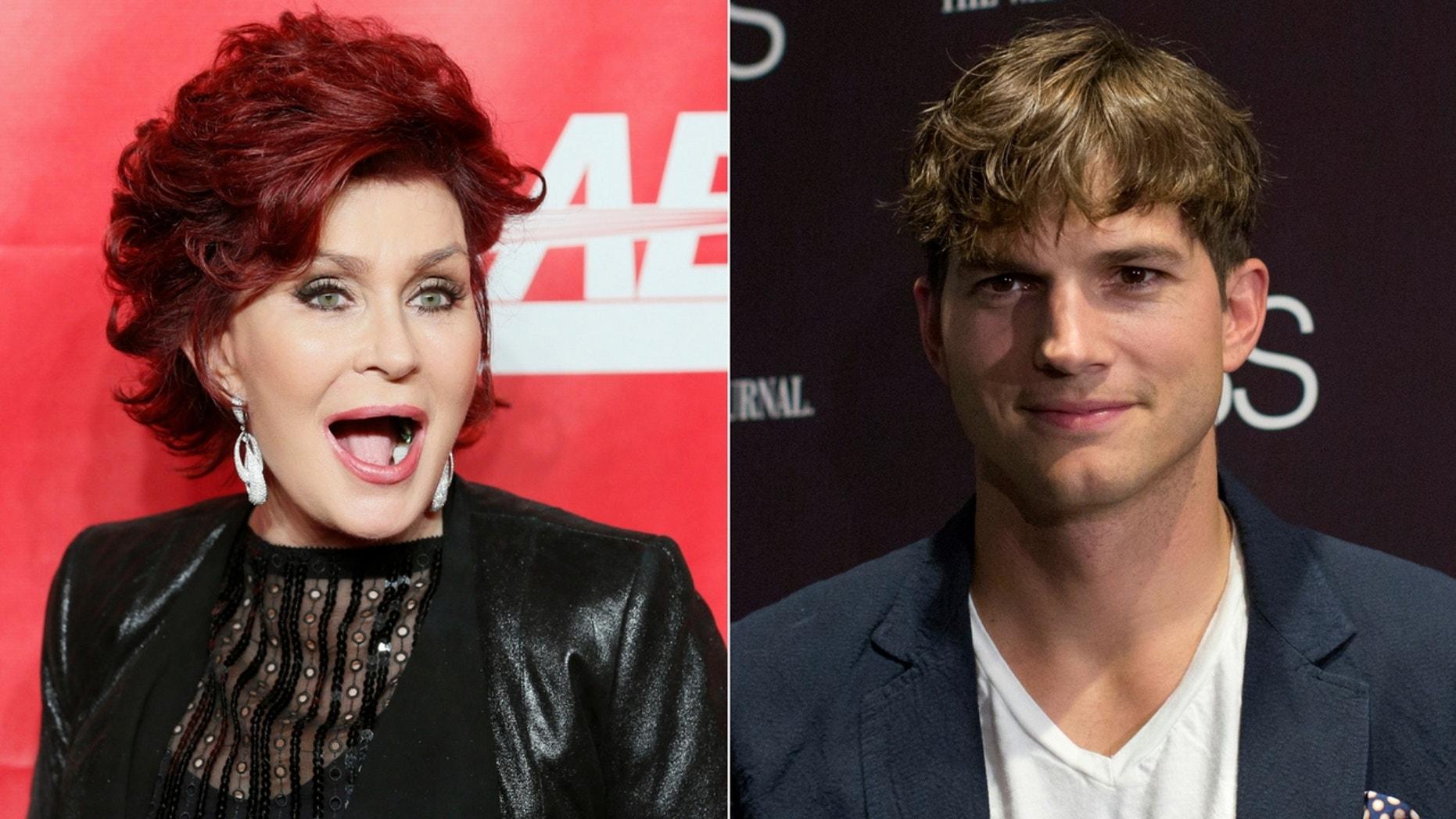 "Sharon Osbourne said she didn't get along with Ashton Kutcher due to his ""bad attitude."""