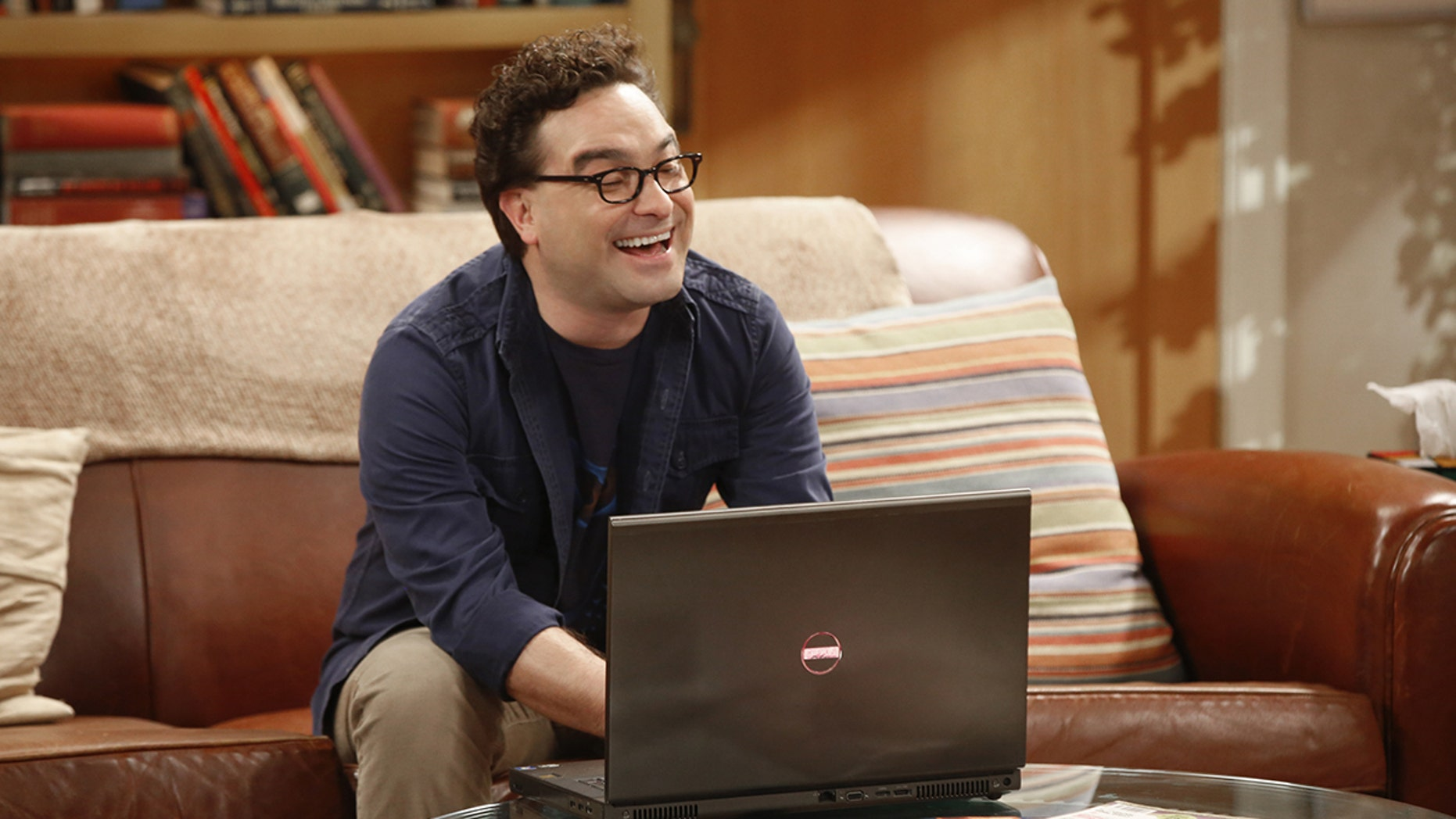 """The Explosion Implosion"" - Pictured: Leonard Hofstadter (Johnny Galecki). Howard and Sheldon bond when they drive to the desert to shoot off a model rocket.   Also, when Leonard's mom, Beverly (Christine Baranski), finds a new best friend in Penny, it rubs Leonard the wrong way, on THE BIG BANG THEORY, Monday, Oct. 16 (8:00-8:31 PM, ET/PT), on the CBS Television Network. Photo: Monty Brinton/CBS ©2017 CBS Broadcasting, Inc. All Rights Reserved"