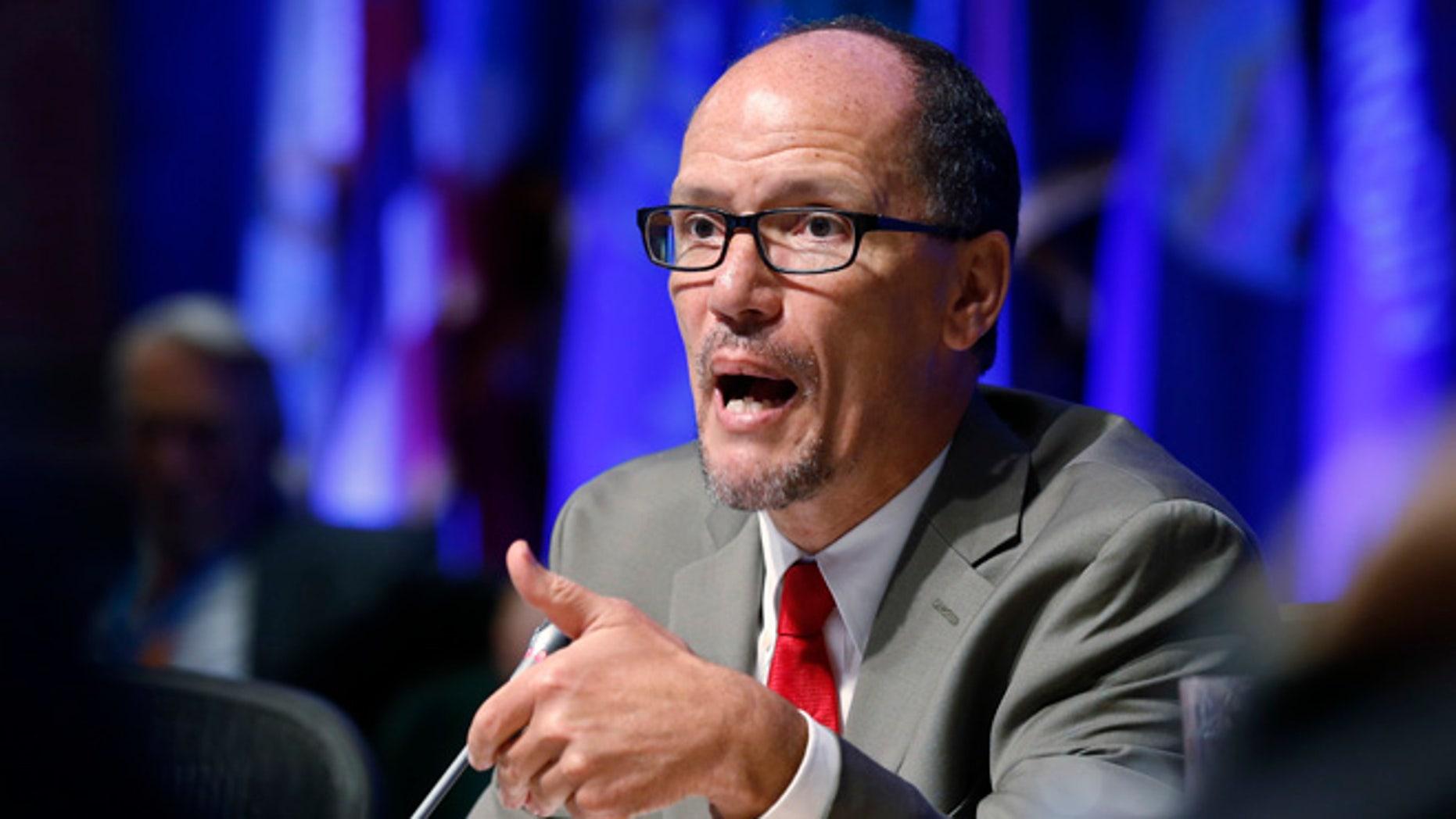 July 25, 2015: Labor Secretary Thomas Perez speaks in West Virginia.