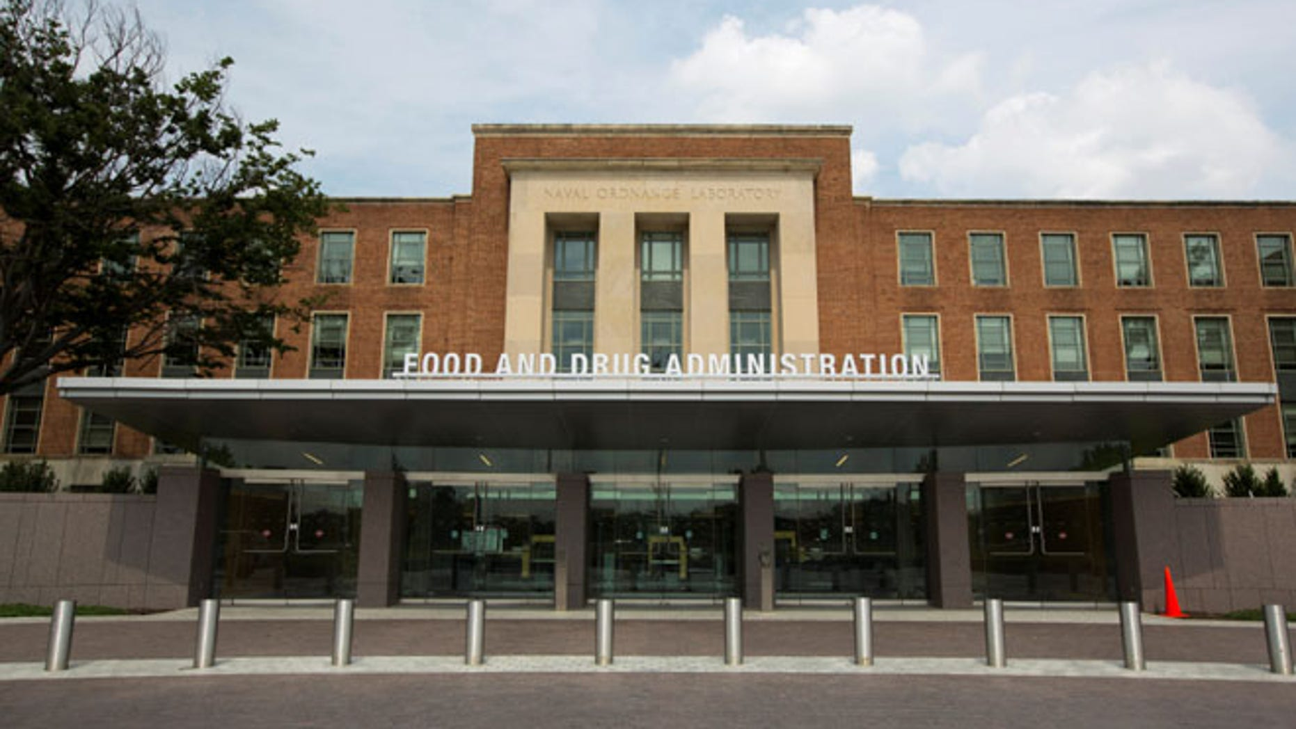 FILE: A view shows the U.S. Food and Drug Administration headquarters in Silver Spring, Maryland.