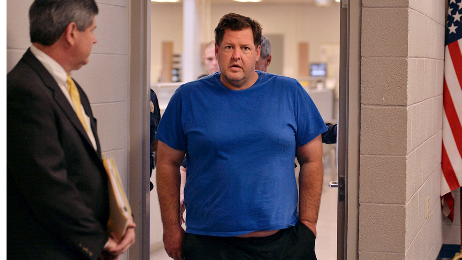 Nov. 4, 2016: Todd Kohlhepp is escorted into a Spartanburg County magistrate courtroom in Spartanburg, S.C.