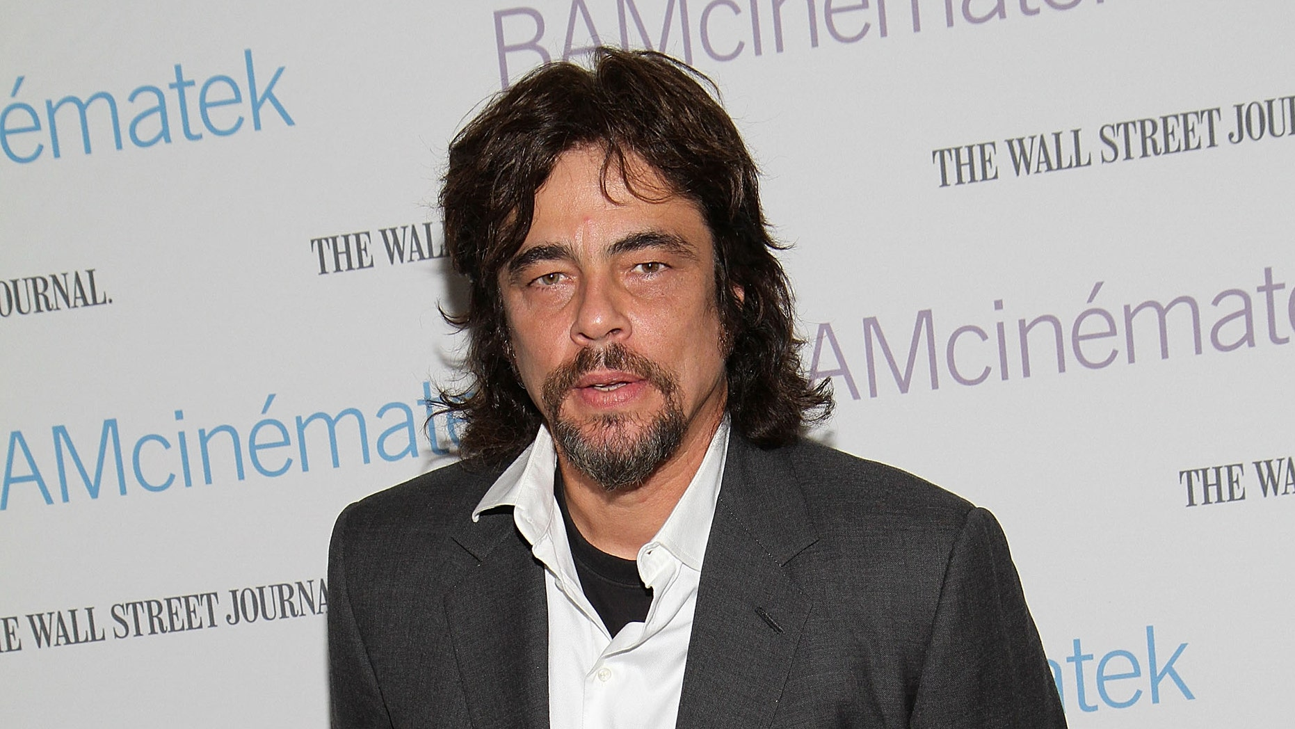 """NEW YORK, NY - APRIL 22:  Actor Benicio del Toro the benefit screening of """"The Naked Island"""" at BAM Rose Cinemas on April 22, 2011 in the Brooklyn borough of New York City.  (Photo by Taylor Hill/Getty Images)"""