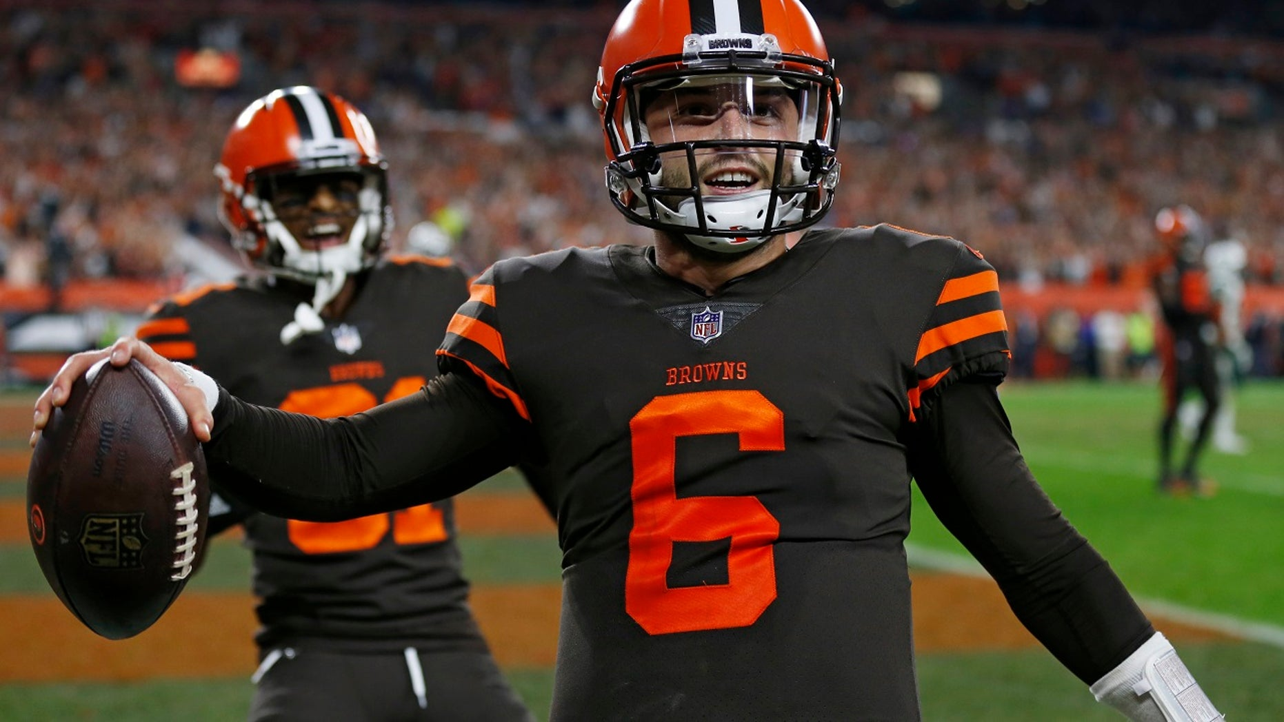 Baker Mayfield led the Cleveland Browns to a comeback victory.