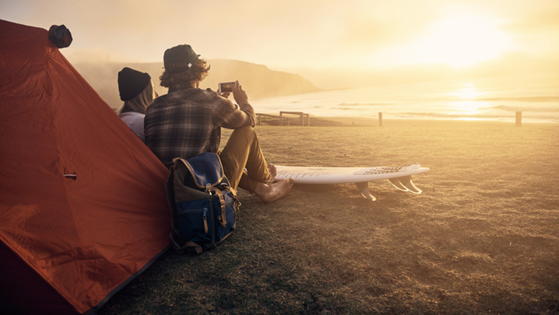 You don't have to travel overseas for great beach camping spots.