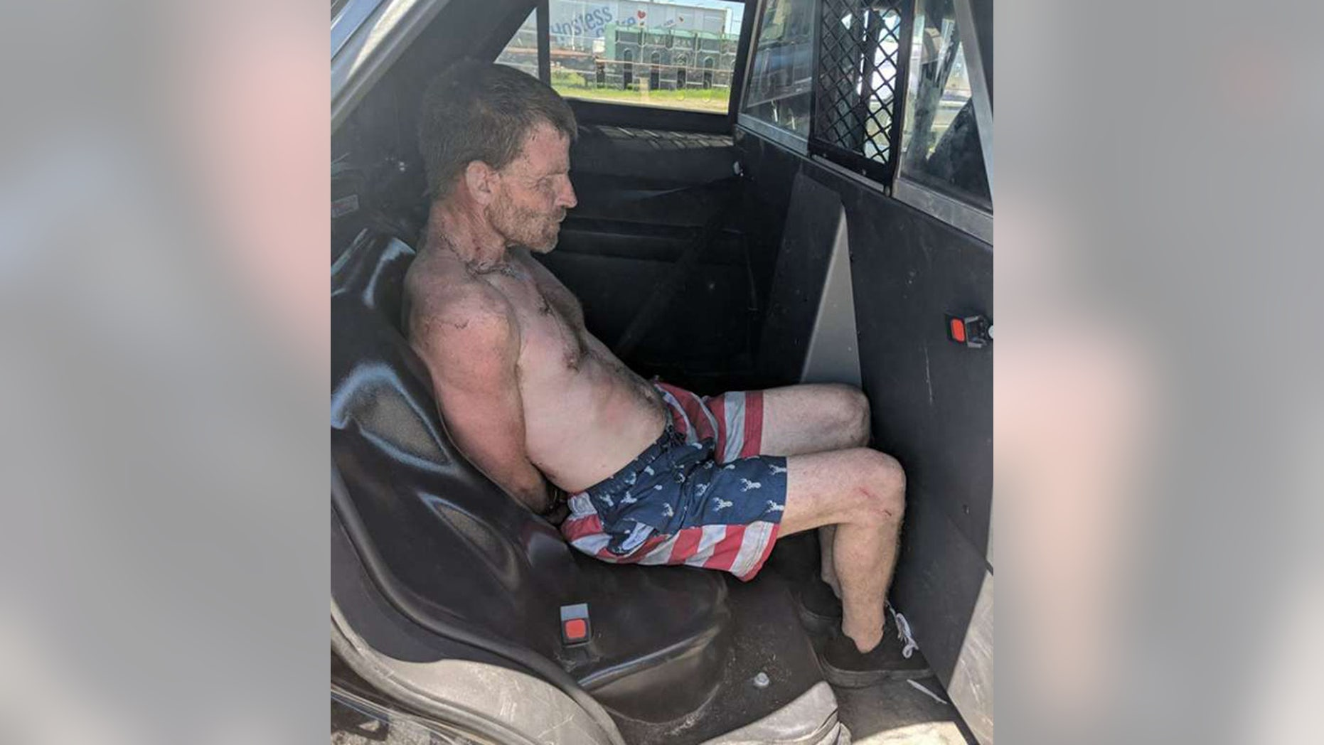 A suspect identified as Matt Hermsmeyer, 46, was arrested Thursday for allegedly stealing a beer truck in Santa Rosa, Calif.