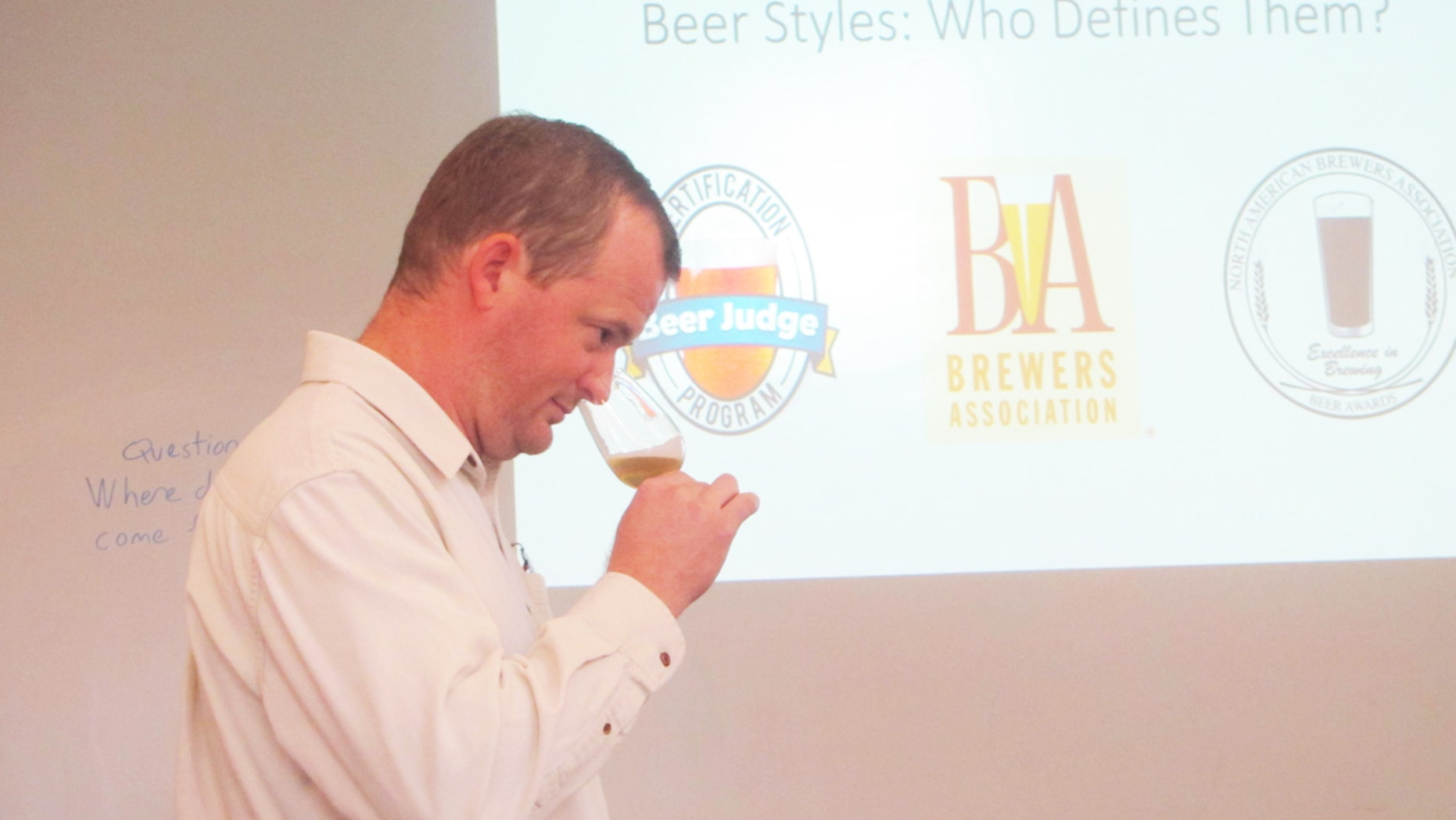 Nick Jones, coordinator at Central New Mexico College's Brewing and Management program, says many of the beer classes are quite strenuous and involve sophisticate knowledge of chemistry.
