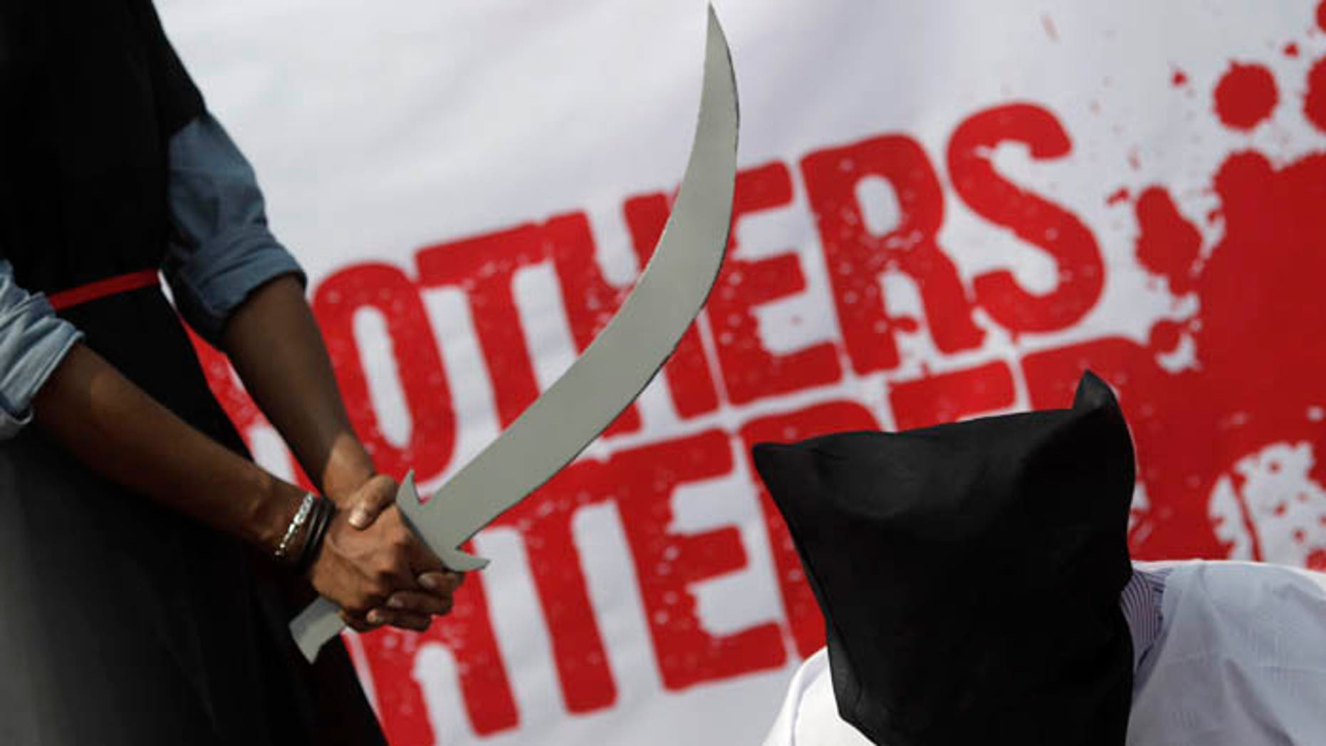Saudi Arabia can't find enough people willing to perform the grim task of beheading convicts. (Reuters)