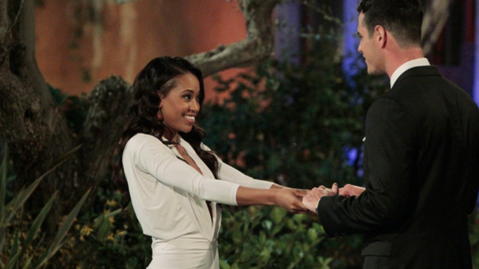 """Jubilee and Ben Higgins on """"The Bachelor."""" ABC"""
