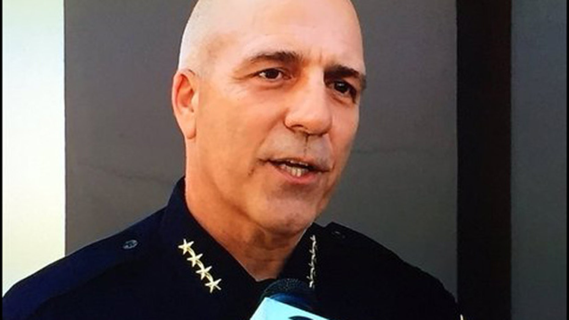 This undated image shows former acting Oakland Police Chief Ben Fairow, who was removed from his post Wednesday by Oakland Mayor Libby Schaaf