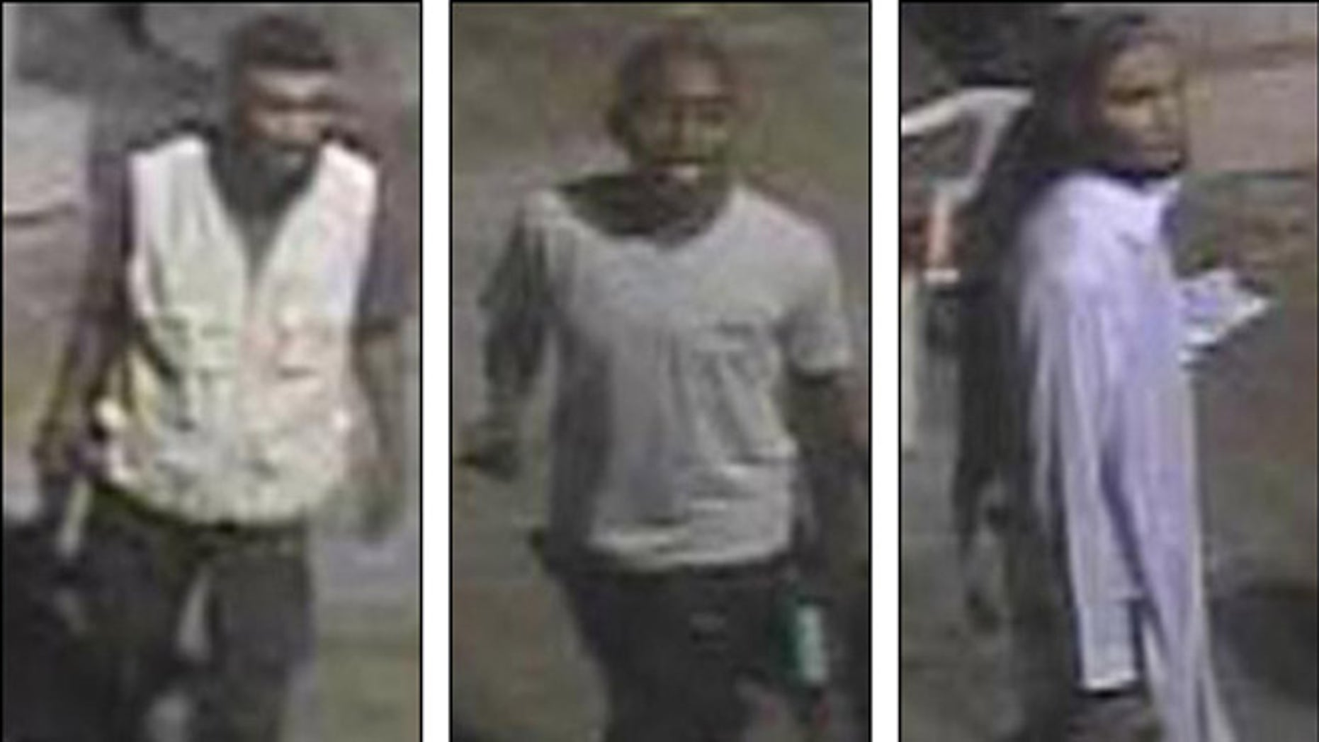Shown here are images released by the FBI of people wanted for questioning in connection with the Benghazi attack.