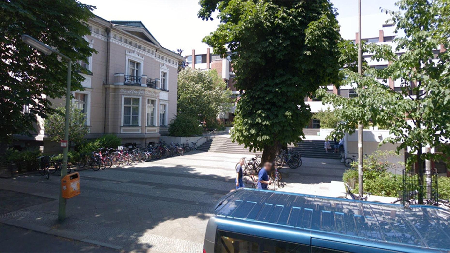 The Französisches Gymnasium school in Berlin.