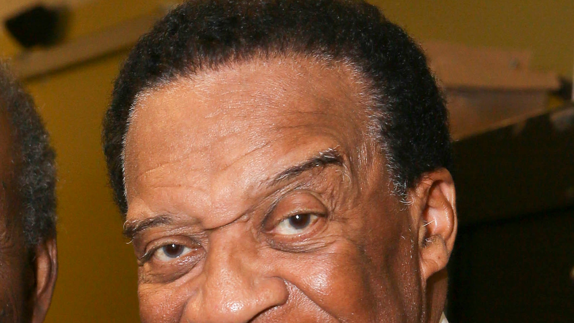 """In this May 23, 2014 file photo, Bernie Casey appears after a performance of """"The Tallest Tree in the Forest"""" in in Los Angeles. Casey, the professional football player turned actor known for parts in """"Revenge of the Nerds"""" and """"I'm Gonna Git You Sucka,"""" died Tuesday, Sept. 19, 2017, in Los Angeles after a brief illness. He was 78."""