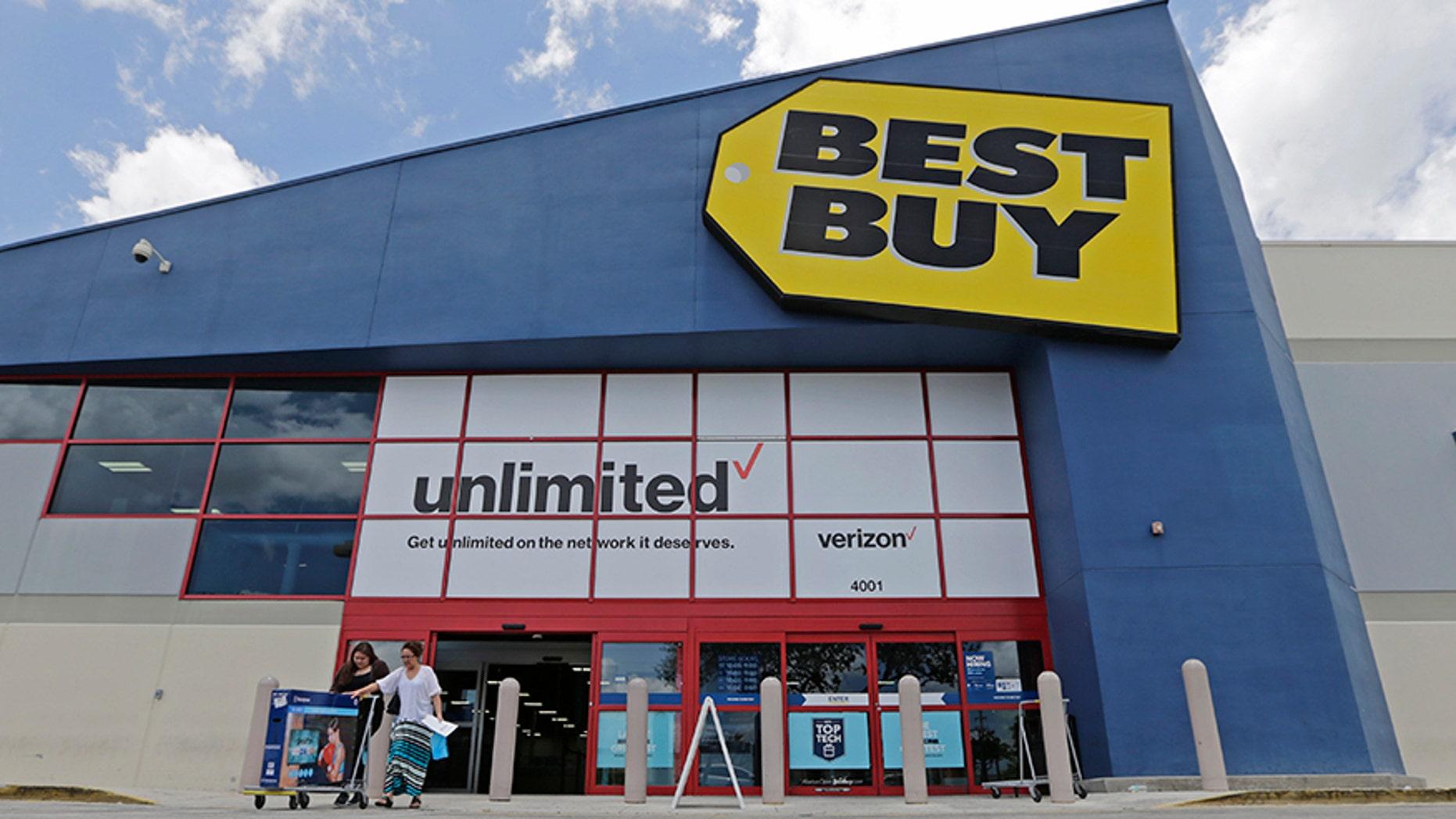 A Best Buy store in Hialeah, Fla.