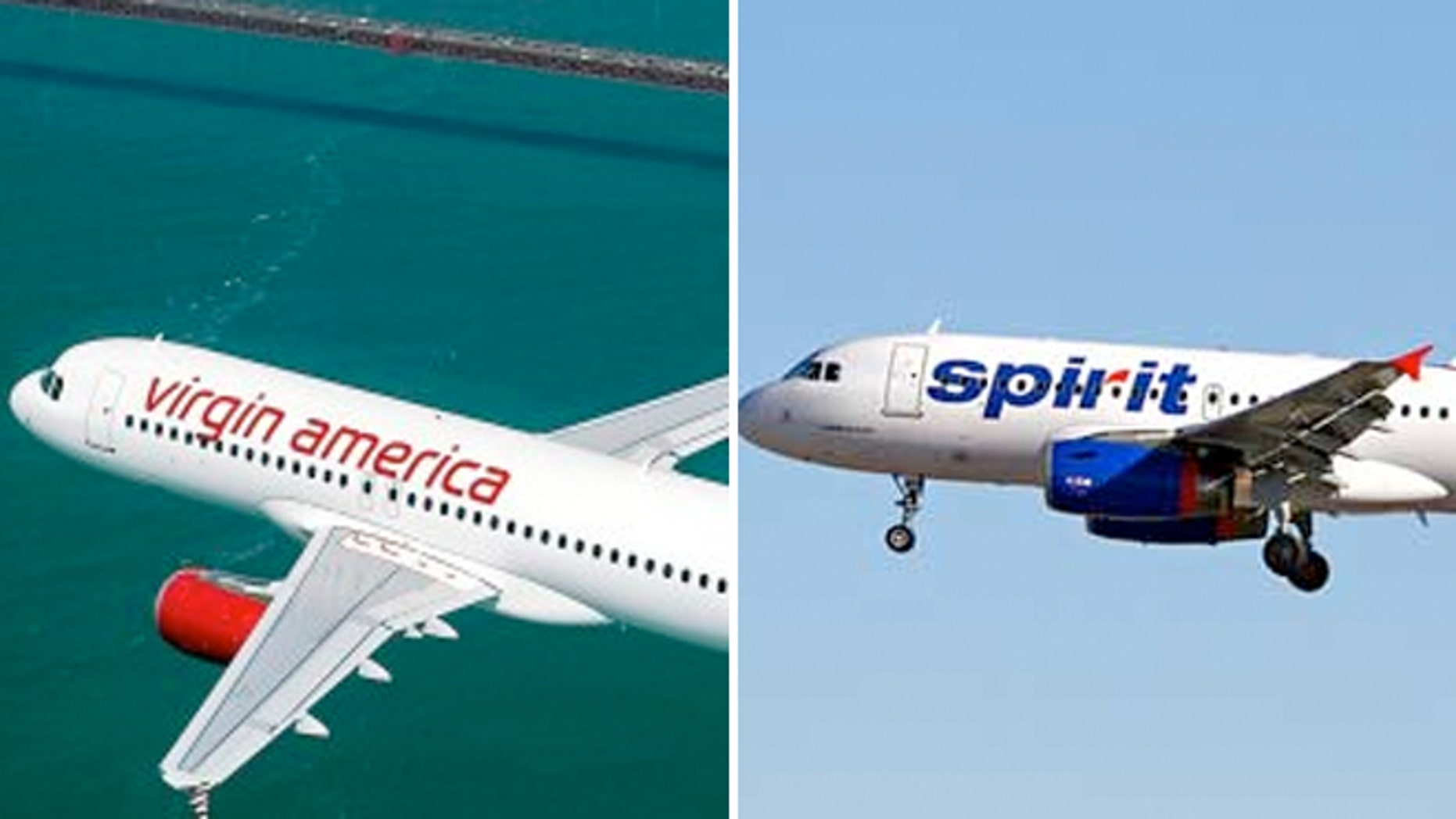 Consumer Reports ranked Virgin America the top airline for customer satisfaction, while Spirit was ranked last.