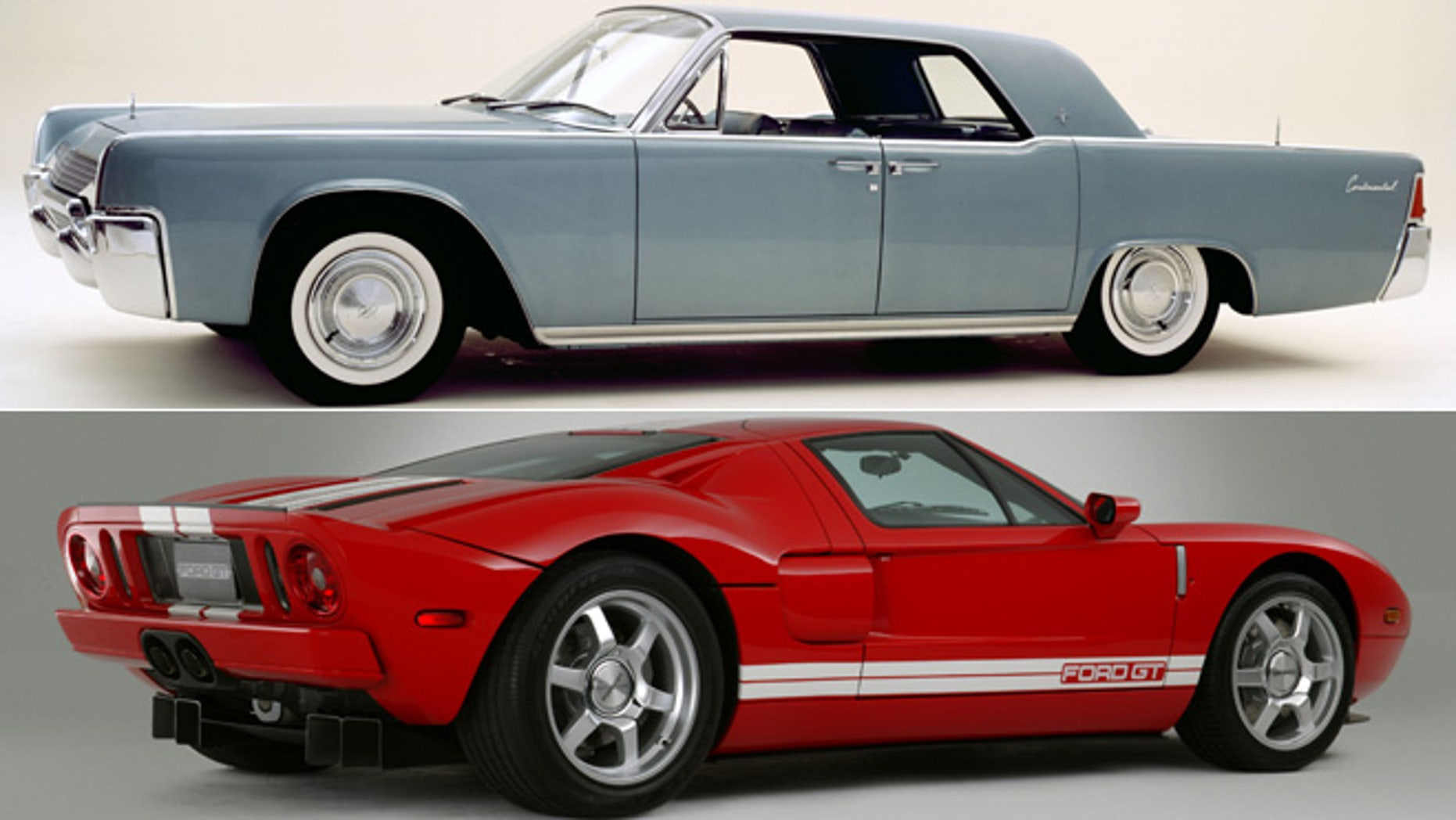 1961 Lincoln Continental/2005 Ford GT