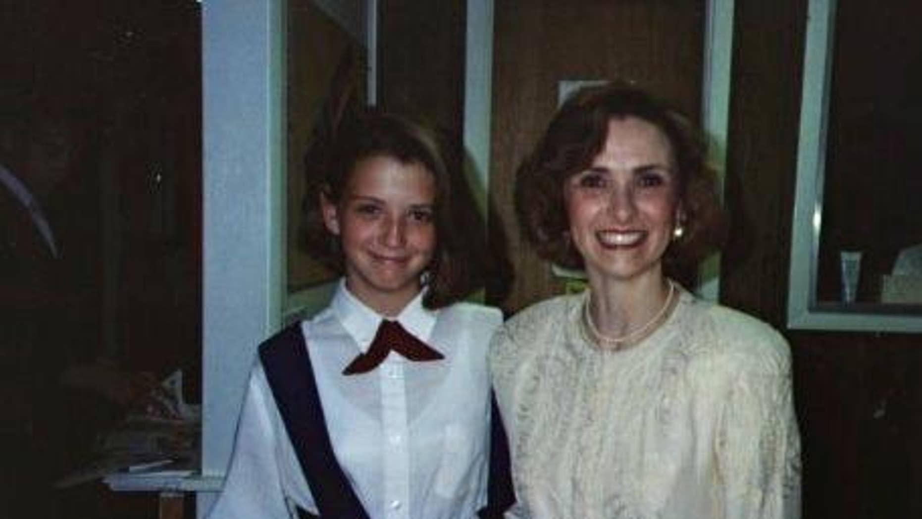Beth Nimmo and her daughter Rachel.