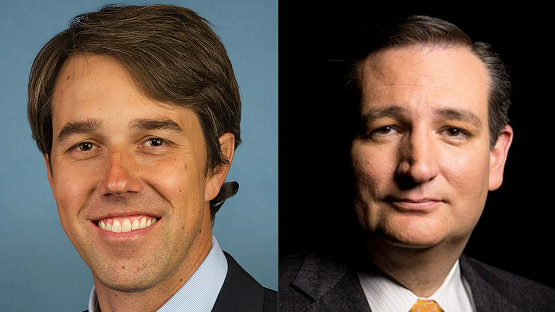 Sen. Ted Cruz (right) is in a tough battle for re-election with Democratic Rep. Beto O'Rourke.