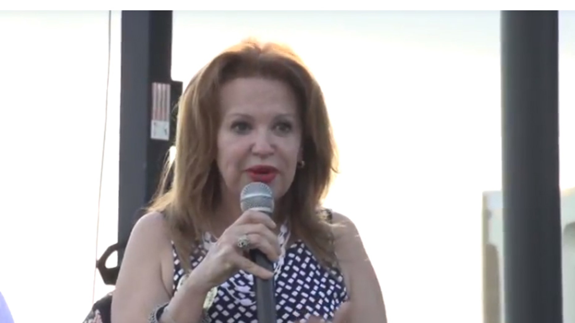Bettina Rodriguez Aguilera is running for the congressional seat being vacated by Ileana Ros-Lehtinen, R-Miami. She claims when she was 7 she was abducted by aliens.  (Doral TV)